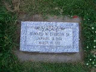 EVERSON, HOWARD - Pottawattamie County, Iowa | HOWARD EVERSON