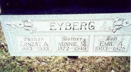 EYBERG, MINNIE M. - Pottawattamie County, Iowa | MINNIE M. EYBERG