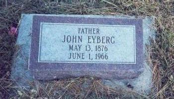 EYBERG, JOHN - Pottawattamie County, Iowa | JOHN EYBERG