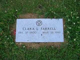 FARRELL, CLARA L - Pottawattamie County, Iowa | CLARA L FARRELL
