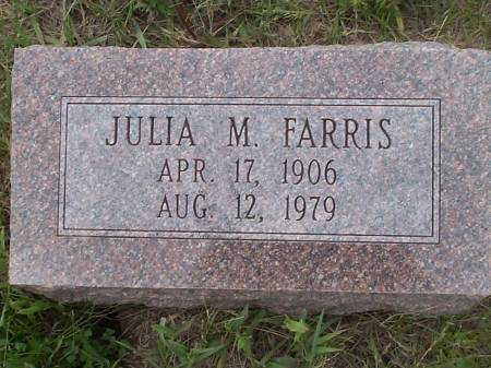 FARRIS, JULIA M. - Pottawattamie County, Iowa | JULIA M. FARRIS