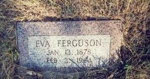 FERGUSON, EVA - Pottawattamie County, Iowa | EVA FERGUSON
