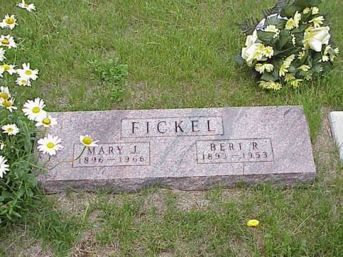 FICKEL, MARY J. & BERT R. - Pottawattamie County, Iowa | MARY J. & BERT R. FICKEL