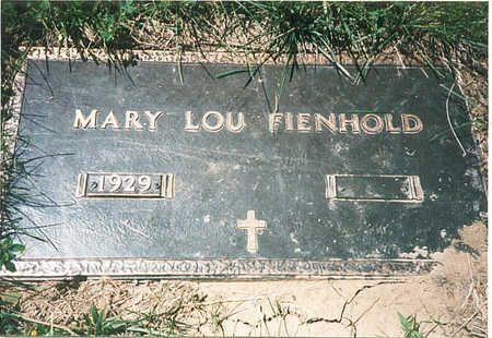 FIENHOLD, MARY LOU - Pottawattamie County, Iowa | MARY LOU FIENHOLD