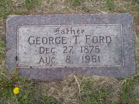 FORD, GEORGE T. - Pottawattamie County, Iowa | GEORGE T. FORD