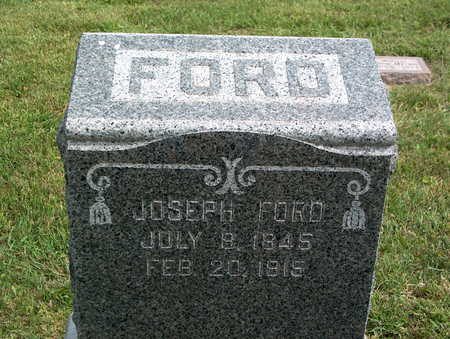 FORD, JOSEPH - Pottawattamie County, Iowa | JOSEPH FORD