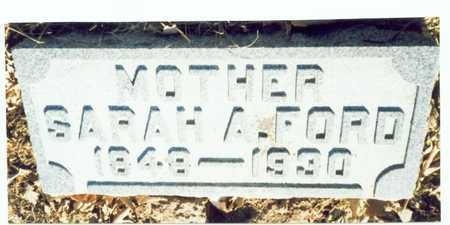 FORD, SARAH A. - Pottawattamie County, Iowa | SARAH A. FORD