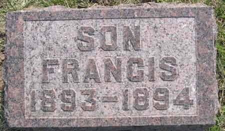 FOREMAN, FRANCIS - Pottawattamie County, Iowa | FRANCIS FOREMAN