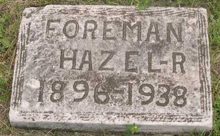 FOREMAN, HAZEL R. - Pottawattamie County, Iowa | HAZEL R. FOREMAN