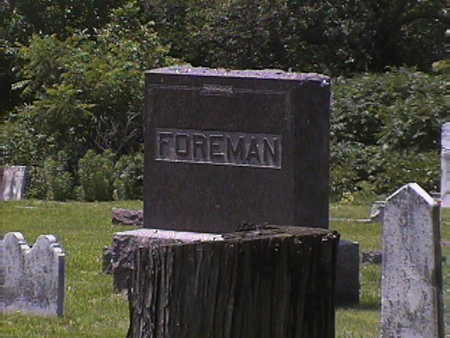 FOREMAN, UNKNOWN - Pottawattamie County, Iowa | UNKNOWN FOREMAN