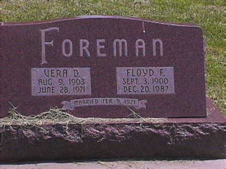 FOREMAN, FLOYD . F - Pottawattamie County, Iowa | FLOYD . F FOREMAN