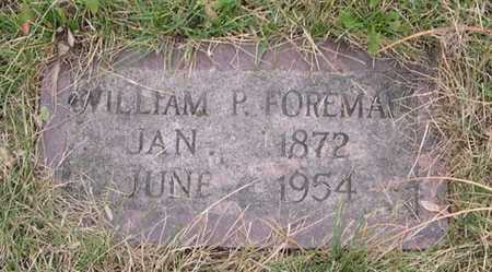 FOREMAN, WILLIAM P. - Pottawattamie County, Iowa | WILLIAM P. FOREMAN
