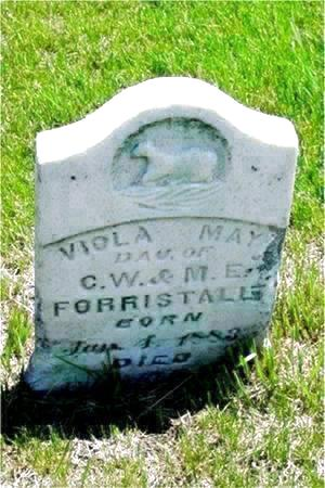 FORRISTALL, VIOLA MAY - Pottawattamie County, Iowa | VIOLA MAY FORRISTALL