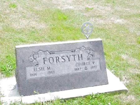 FORSYTH, GEORGE P. - Pottawattamie County, Iowa | GEORGE P. FORSYTH