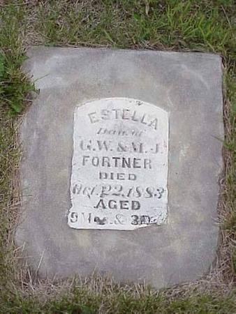 FORTNER, ESTELLA - Pottawattamie County, Iowa | ESTELLA FORTNER