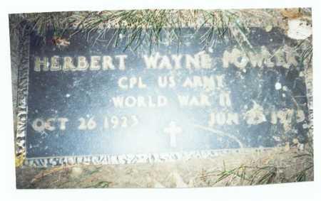 FOWLER, HERBERT WAYNE - Pottawattamie County, Iowa | HERBERT WAYNE FOWLER