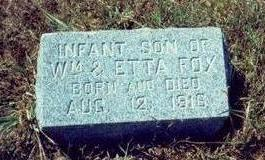 FOX, INFANT SON - Pottawattamie County, Iowa | INFANT SON FOX