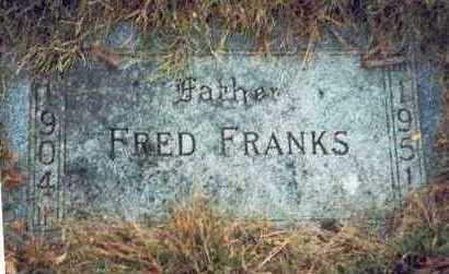 FRANKS, FRED - Pottawattamie County, Iowa | FRED FRANKS