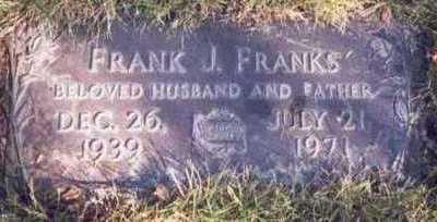 FRANKS, FRANK J. - Pottawattamie County, Iowa | FRANK J. FRANKS
