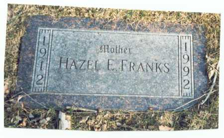 FRANKS, HAZEL EVELYN - Pottawattamie County, Iowa | HAZEL EVELYN FRANKS