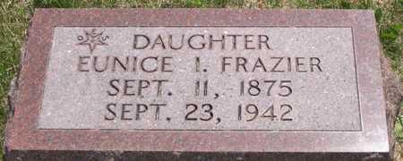 FRAZIER, EUNICE I. - Pottawattamie County, Iowa | EUNICE I. FRAZIER
