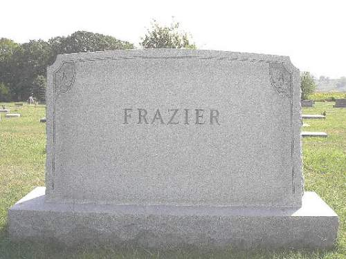 FRAZIER, HEADSTONE - Pottawattamie County, Iowa | HEADSTONE FRAZIER