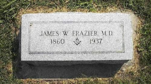 FRAZIER, JAMES W. - Pottawattamie County, Iowa   JAMES W. FRAZIER