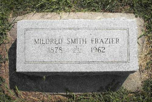 FRAZIER, MILDRED SMITH - Pottawattamie County, Iowa | MILDRED SMITH FRAZIER
