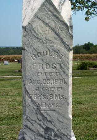FROST, ROBERT - Pottawattamie County, Iowa | ROBERT FROST