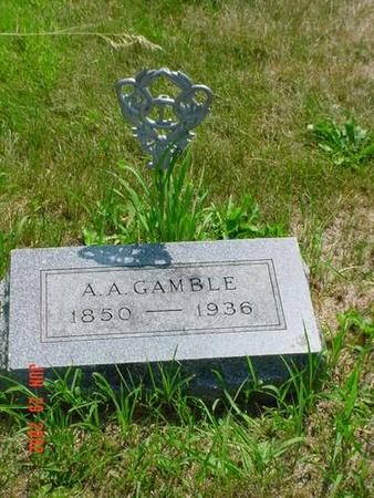 GAMBLE, A.A. - Pottawattamie County, Iowa | A.A. GAMBLE