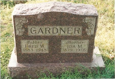 STRAYER GARDNER, IDA MAY - Pottawattamie County, Iowa | IDA MAY STRAYER GARDNER