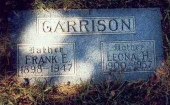 GARRISON, LEONA H. - Pottawattamie County, Iowa | LEONA H. GARRISON