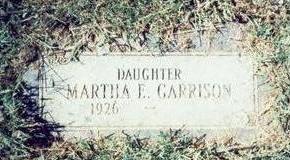 GARRISON, MARTHA E - Pottawattamie County, Iowa | MARTHA E GARRISON