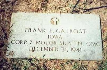 GATROST, FRANK EZRA - Pottawattamie County, Iowa | FRANK EZRA GATROST