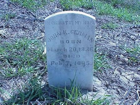 GERMAN, JOHN K. - Pottawattamie County, Iowa | JOHN K. GERMAN