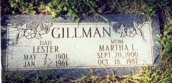 GILLMAN, MARTHA L. - Pottawattamie County, Iowa | MARTHA L. GILLMAN