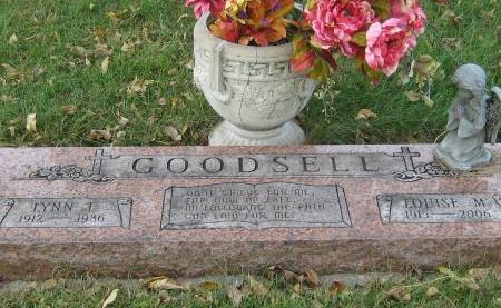 GOODSELL, LOUISE M - Pottawattamie County, Iowa | LOUISE M GOODSELL
