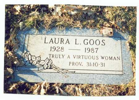 KLOPPING GOOS, LAURA LOUISE - Pottawattamie County, Iowa | LAURA LOUISE KLOPPING GOOS
