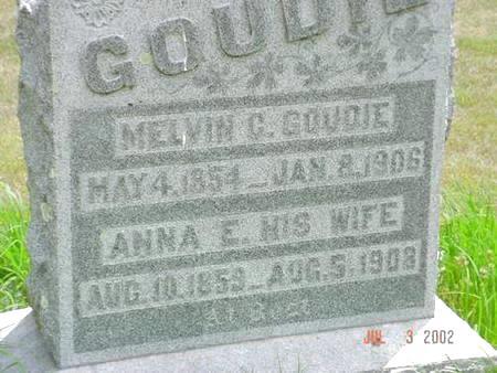 GOUDIE, ANNA E. - Pottawattamie County, Iowa | ANNA E. GOUDIE