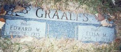 GRAALFS, EDWARD WILLIAM - Pottawattamie County, Iowa | EDWARD WILLIAM GRAALFS