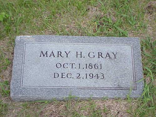 GRAY, MARY H. - Pottawattamie County, Iowa | MARY H. GRAY