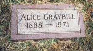 GRAYBILL, ALICE MABEL - Pottawattamie County, Iowa | ALICE MABEL GRAYBILL