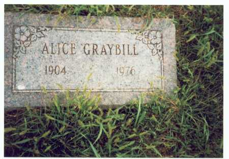 GRAYBILL, ALICE - Pottawattamie County, Iowa | ALICE GRAYBILL
