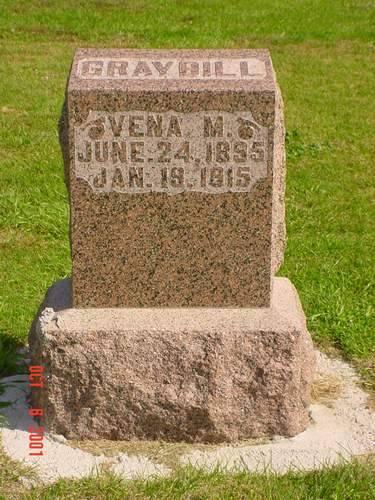 GRAYBILL, VENA M. - Pottawattamie County, Iowa | VENA M. GRAYBILL