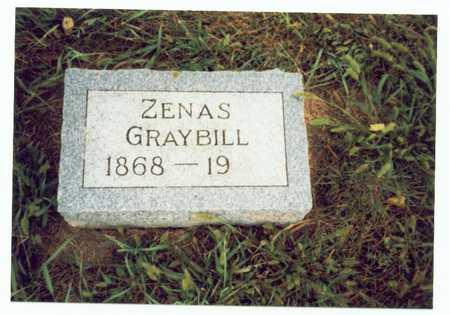 GRAYBILL, ZENAS - Pottawattamie County, Iowa | ZENAS GRAYBILL