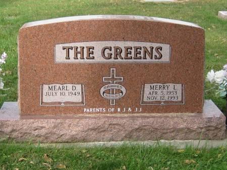 GREENS, MERRY L. - Pottawattamie County, Iowa   MERRY L. GREENS