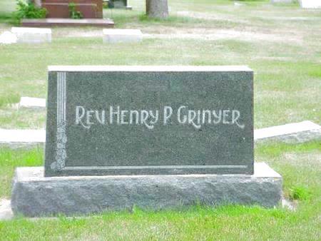 GRINYER, FAMILY - Pottawattamie County, Iowa   FAMILY GRINYER