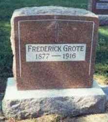 GROTE, FREDERICK - Pottawattamie County, Iowa | FREDERICK GROTE