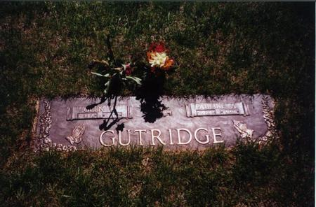 GUTRIDGE, PAULINE - Pottawattamie County, Iowa | PAULINE GUTRIDGE