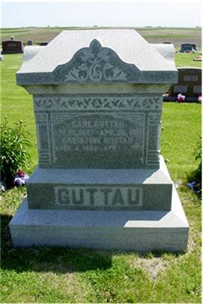 GUTTAU, CARL AND CHRISTINE - Pottawattamie County, Iowa | CARL AND CHRISTINE GUTTAU